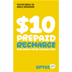 optus how to change prepaid plan online
